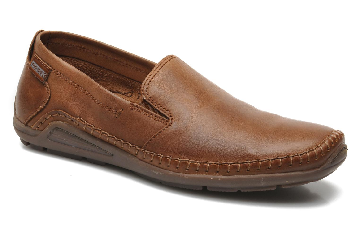 Loafers Pikolinos Azores 06H-5303 Brown detailed view/ Pair view