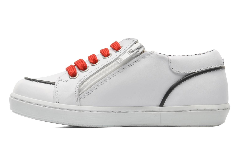 Sneaker Petit bateau Luck weiß ansicht von vorne