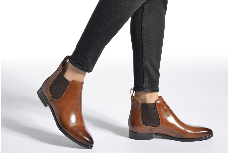 Bottines et boots Melvin & Hamilton Jessy 1 Marron vue bas / vue portée sac