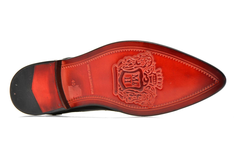 Zapatos con cordones Melvin & Hamilton Toni 2 Negro vista de arriba