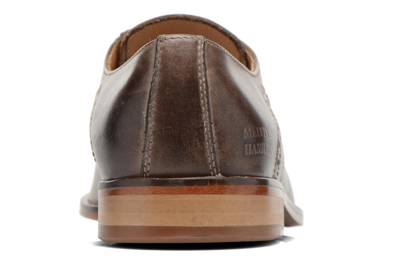Zapatos con cordones Melvin & Hamilton Austin 2 Gris vista lateral derecha