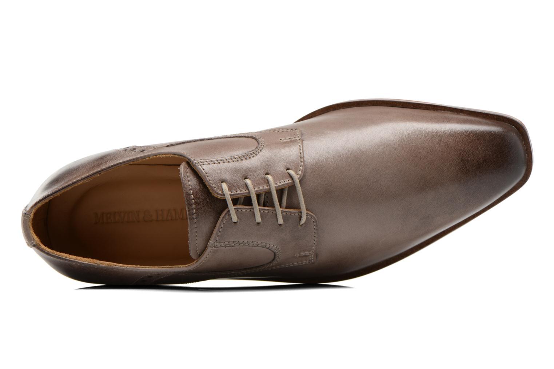 Zapatos con cordones Melvin & Hamilton Austin 2 Gris vista lateral izquierda
