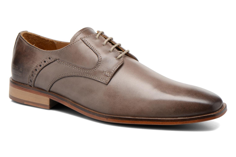 Zapatos con cordones Melvin & Hamilton Austin 2 Gris vista de detalle / par