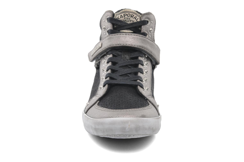 Baskets Kaporal Snatchy Noir vue portées chaussures