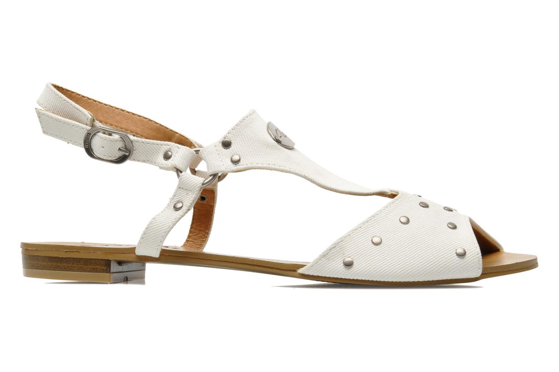 Sandales et nu-pieds Kaporal Paddy Blanc vue derrière