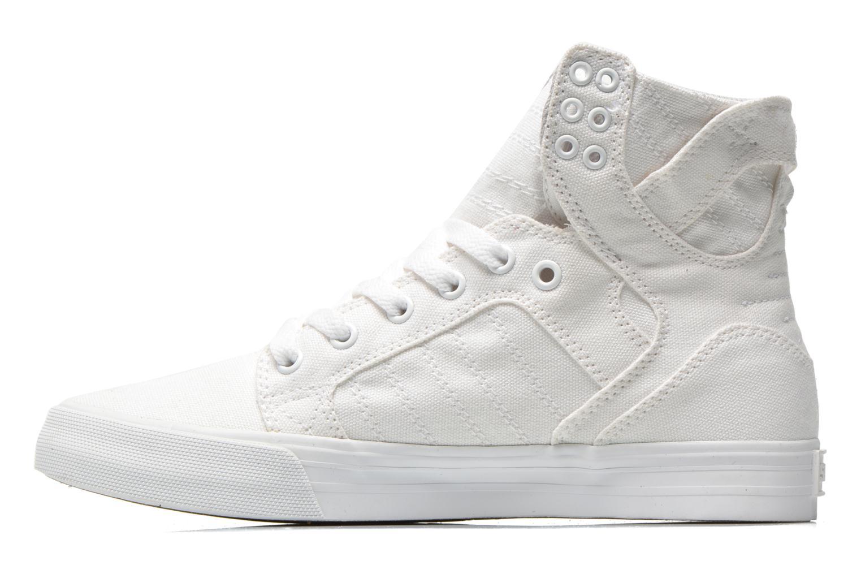 Sneaker Supra Skytop D weiß ansicht von vorne