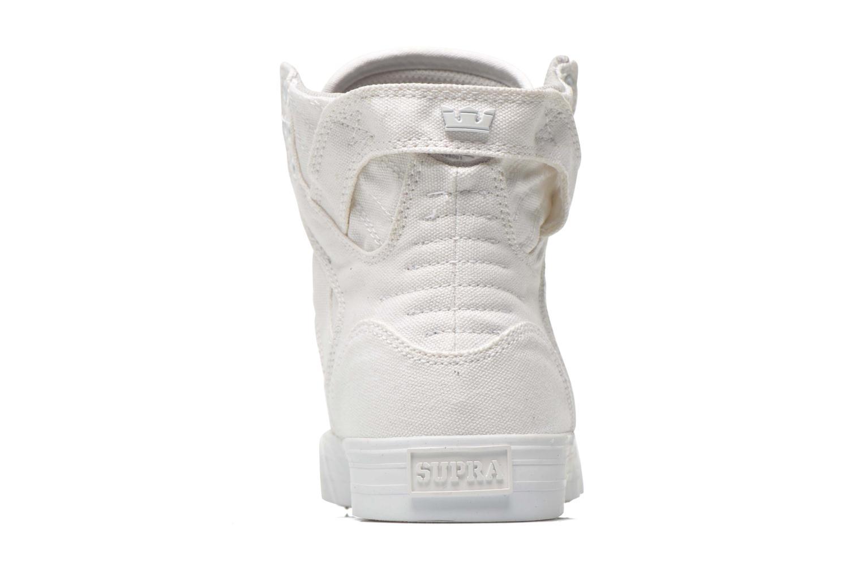 Sneaker Supra Skytop D weiß ansicht von rechts