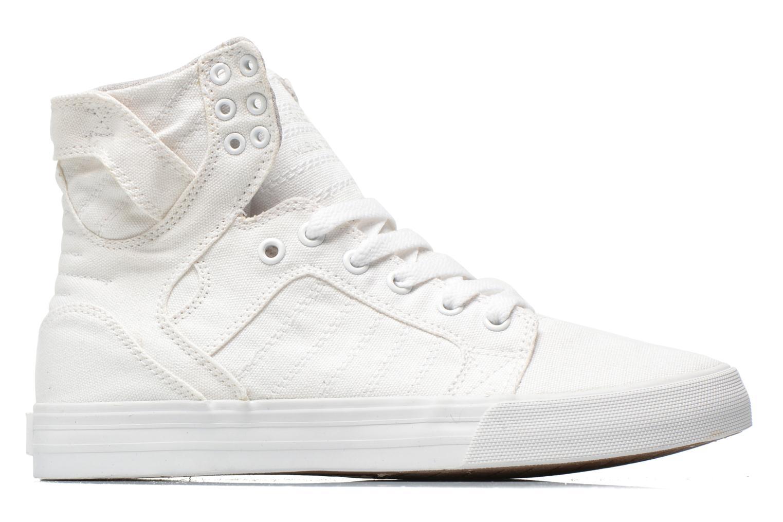 Sneaker Supra Skytop D weiß ansicht von hinten