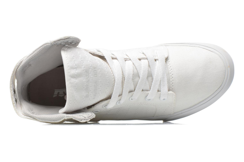 Sneaker Supra Skytop D weiß ansicht von links