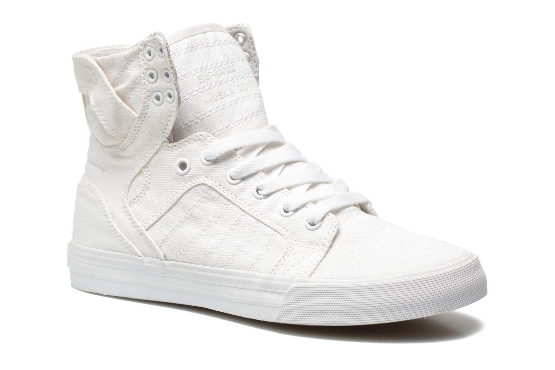 Sneaker Supra Skytop D weiß detaillierte ansicht/modell