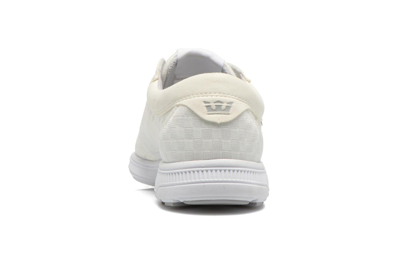 Sneakers Supra Hammer run W Wit rechts