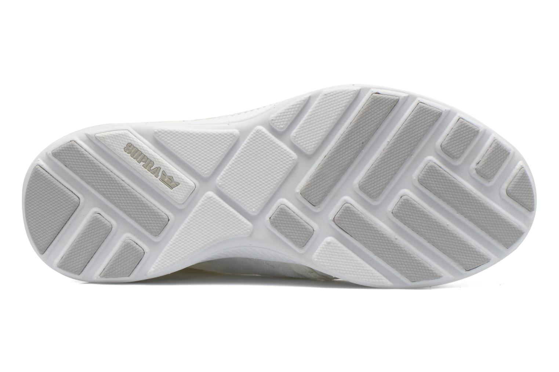 Sneakers Supra Hammer run W Bianco immagine dall'alto
