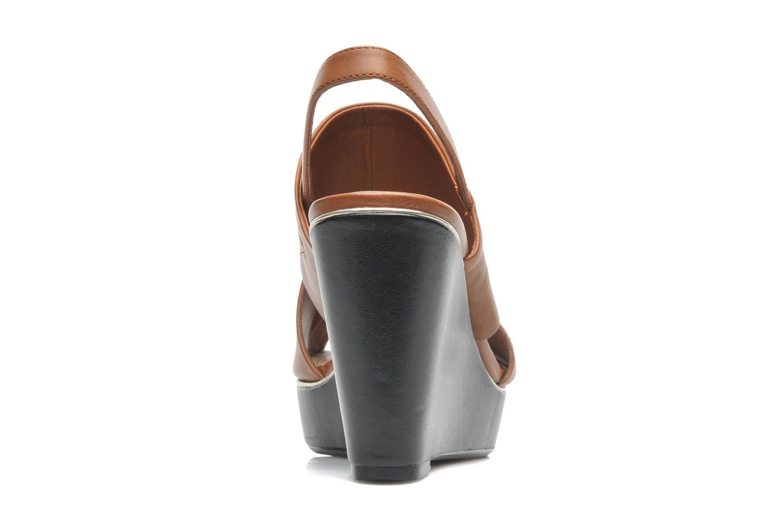 Sandales et nu-pieds Clarks Scent Whisp Marron vue droite