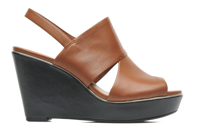 Sandales et nu-pieds Clarks Scent Whisp Marron vue derrière