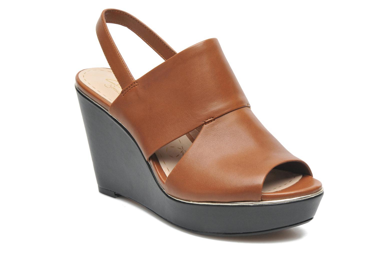 Sandales et nu-pieds Clarks Scent Whisp Marron vue détail/paire