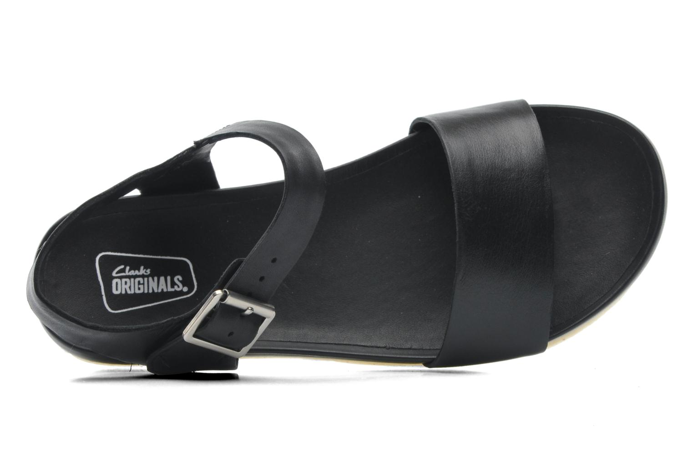 Sandales et nu-pieds Clarks Originals Dusty Soul Noir vue gauche