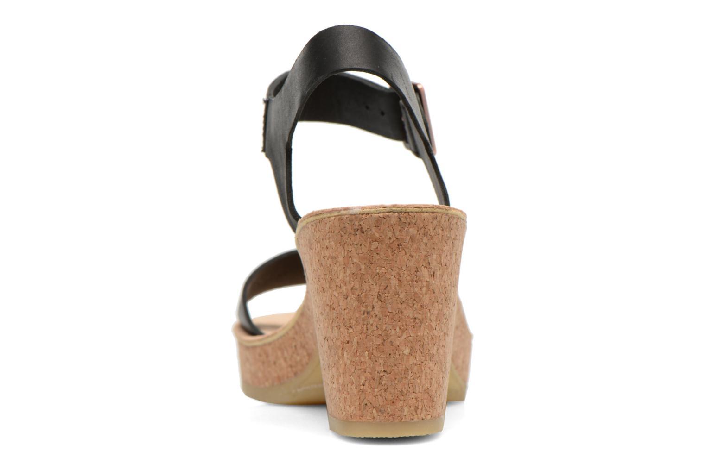 Sandales et nu-pieds Clarks Originals Jayda Parade Noir vue droite