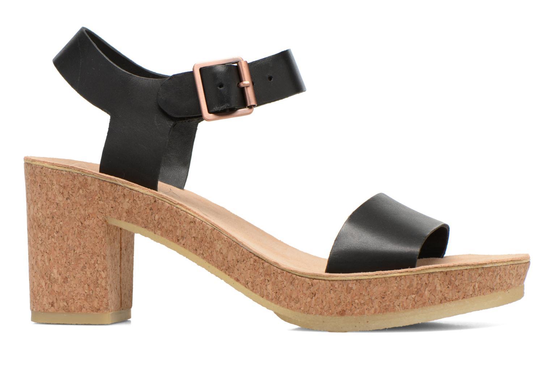 Sandales et nu-pieds Clarks Originals Jayda Parade Noir vue derrière