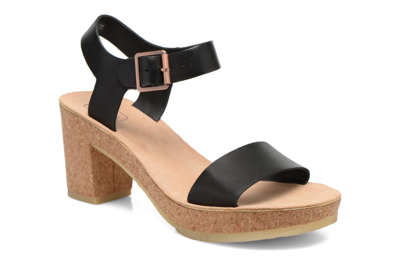 Sandales et nu-pieds Clarks Originals Jayda Parade Noir vue détail/paire