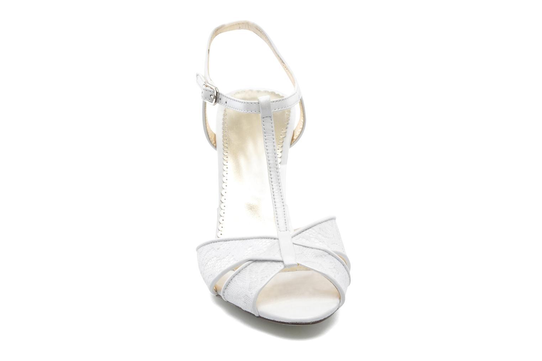 Sandales et nu-pieds Georgia Rose Rutaime Blanc vue portées chaussures