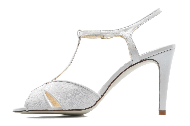 Sandales et nu-pieds Georgia Rose Rutaime Blanc vue face
