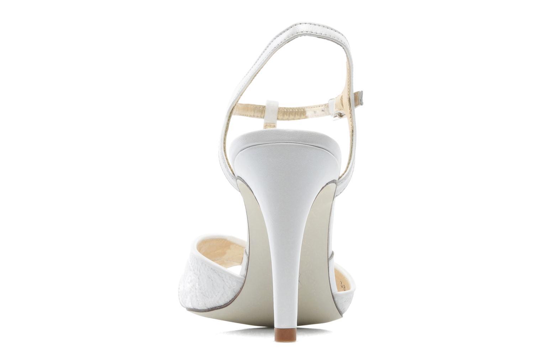 Sandales et nu-pieds Georgia Rose Rutaime Blanc vue droite