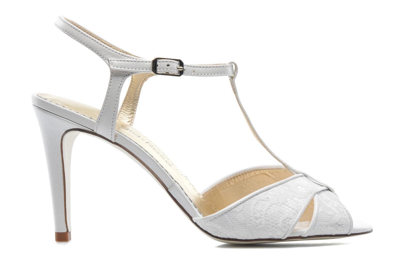 Sandales et nu-pieds Georgia Rose Rutaime Blanc vue derrière
