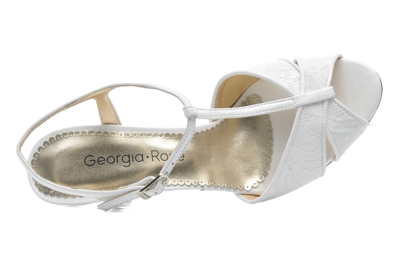 Sandales et nu-pieds Georgia Rose Rutaime Blanc vue gauche