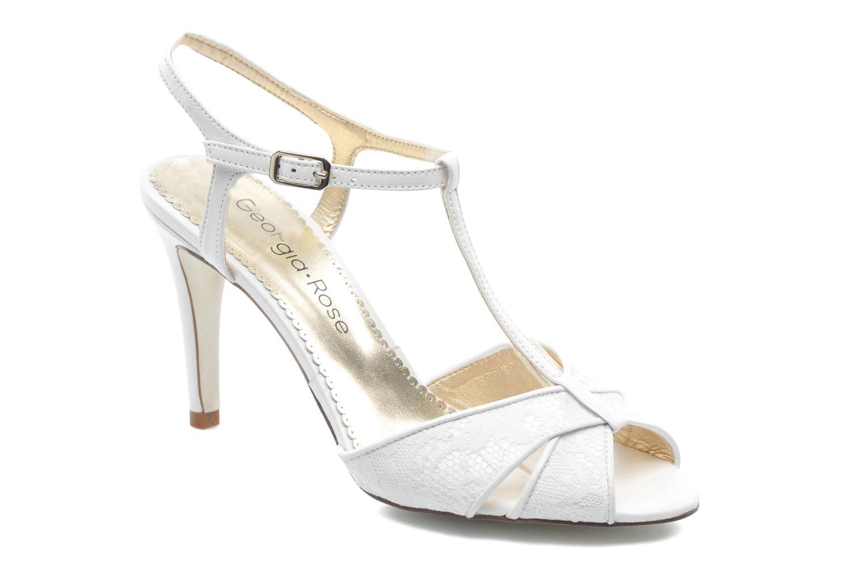 Sandales et nu-pieds Georgia Rose Rutaime Blanc vue détail/paire