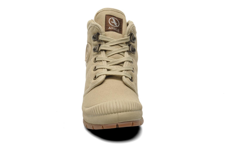 Baskets Aigle TENERE KID Beige vue portées chaussures