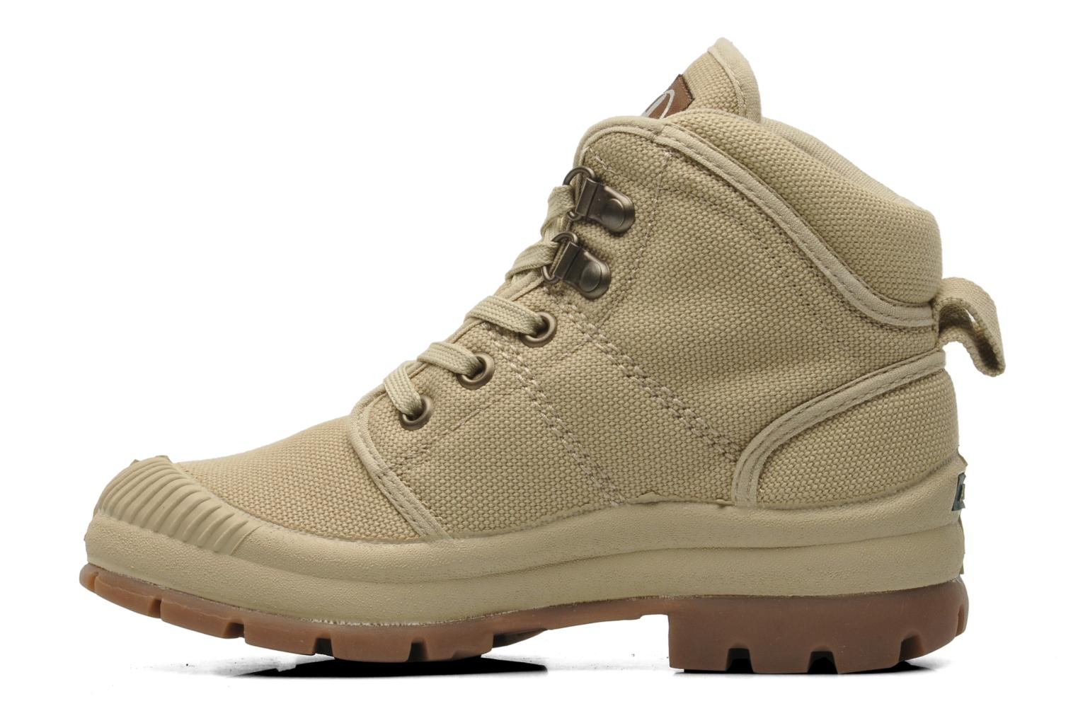 Trainers Aigle TENERE KID Beige front view