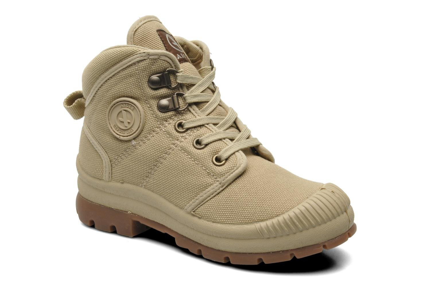 Trainers Aigle TENERE KID Beige detailed view/ Pair view