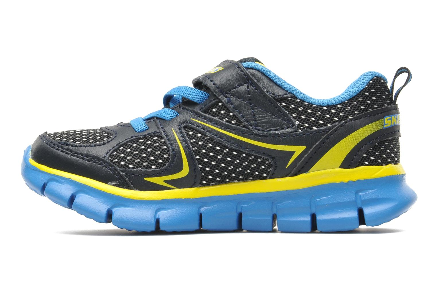 Trainers Skechers Synergy Mini Dash Blue front view