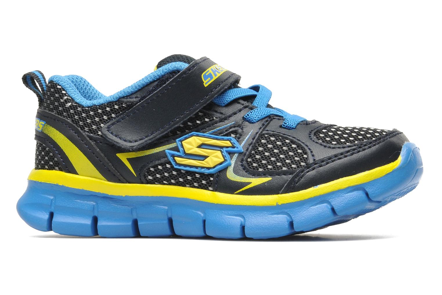 Trainers Skechers Synergy Mini Dash Blue back view