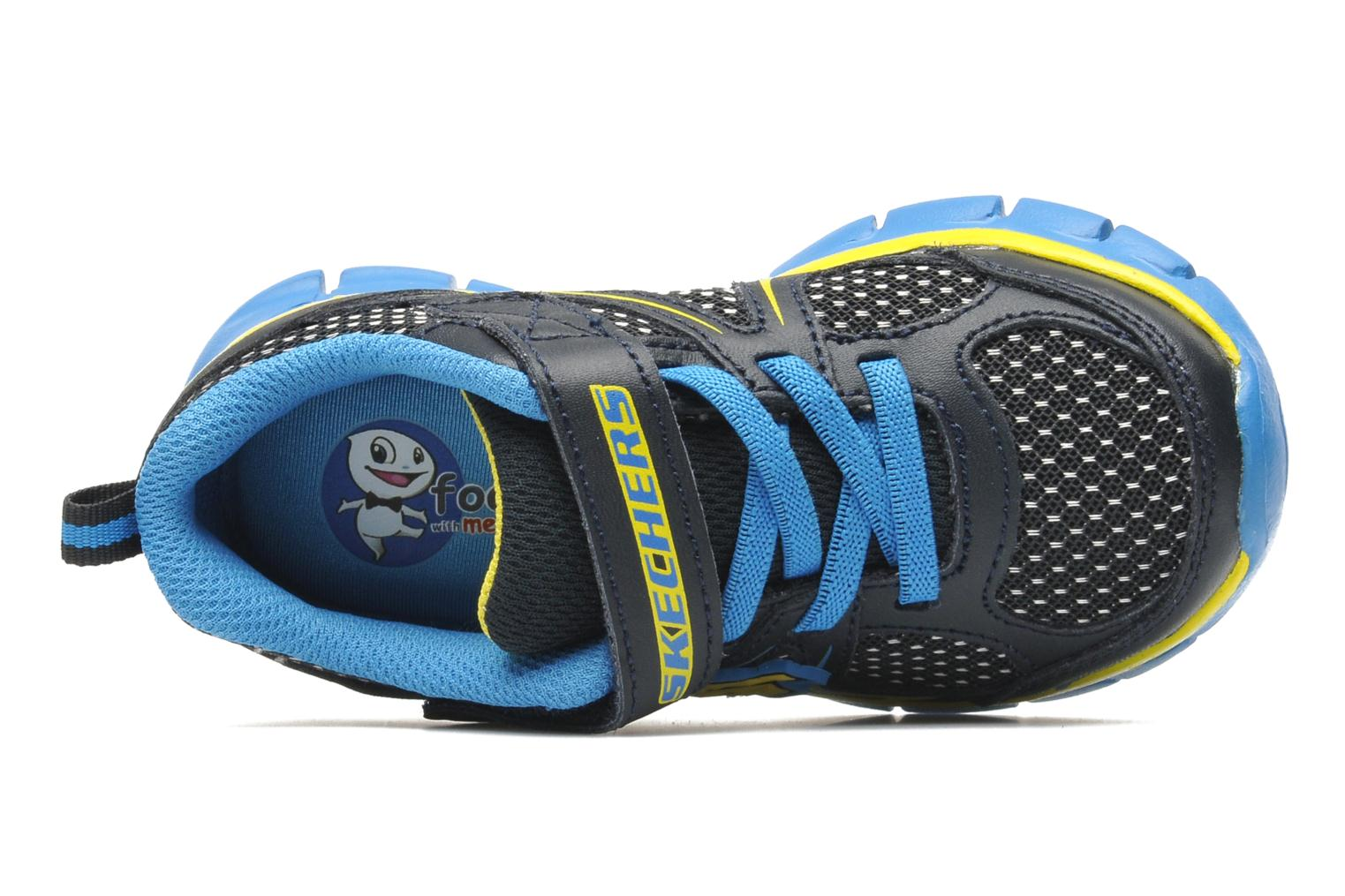 Trainers Skechers Synergy Mini Dash Blue view from the left