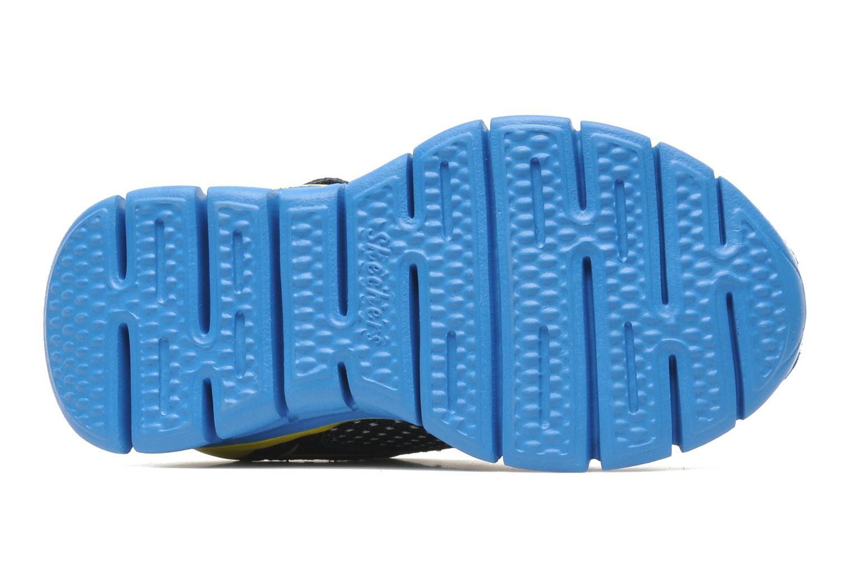 Baskets Skechers Synergy Mini Dash Bleu vue haut