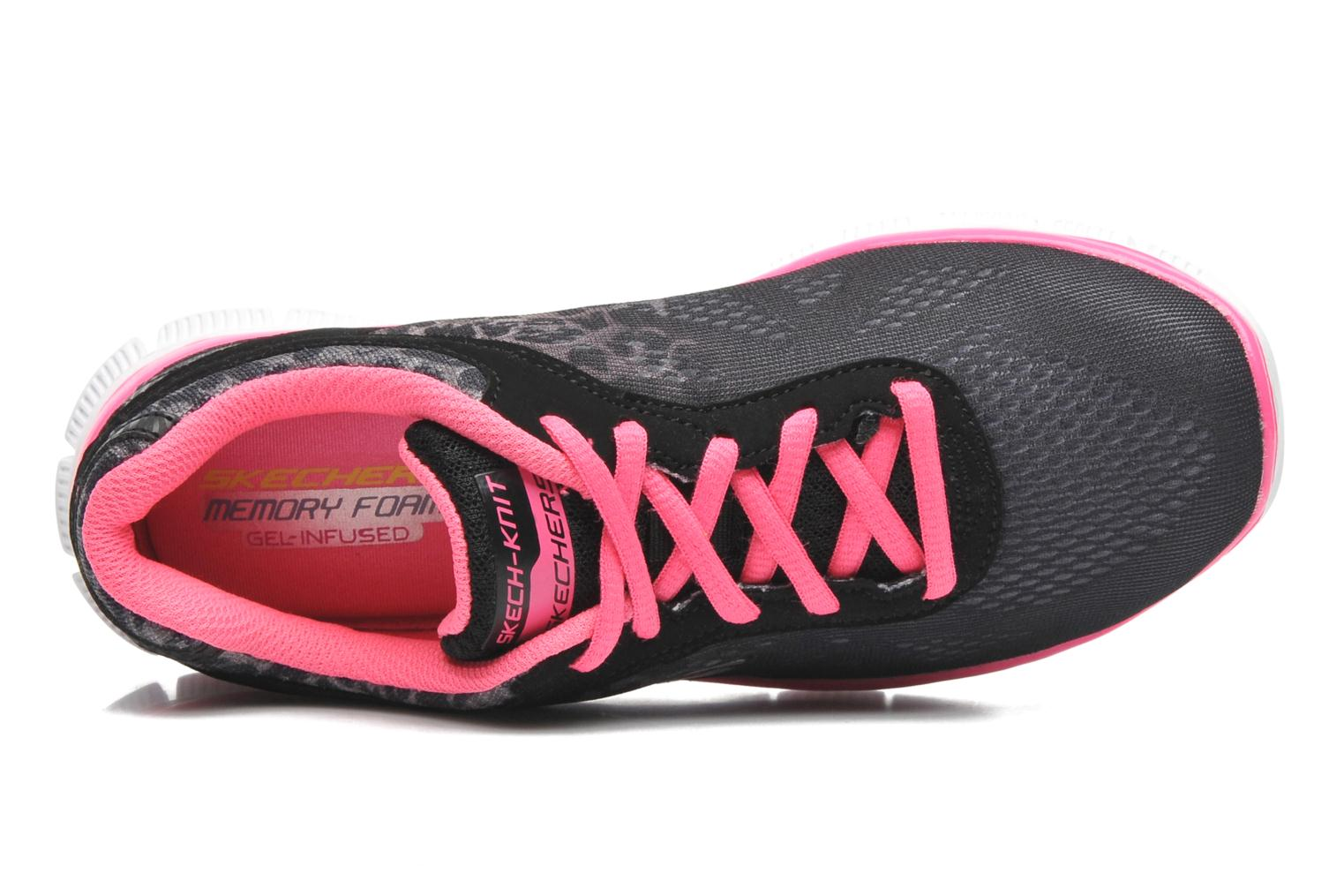 Trainers Skechers Skech Appeal Serengeti Black view from the left