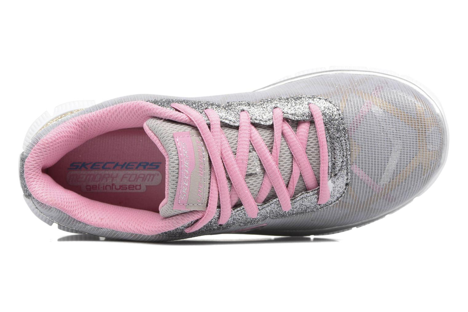 Trainers Skechers Skech Appeal Grey view from the left