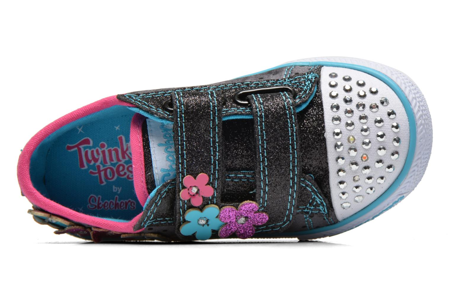 Baskets Skechers Shuffles Pretty Blossoms Noir vue gauche