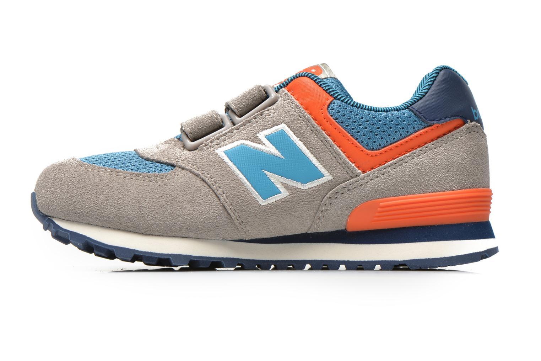 Sneaker New Balance KV574OCY grau ansicht von vorne