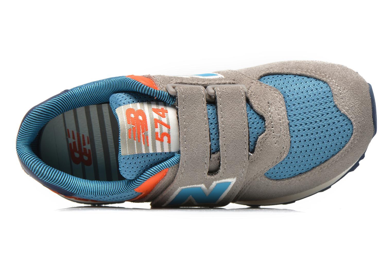 Sneaker New Balance KV574OCY grau ansicht von links