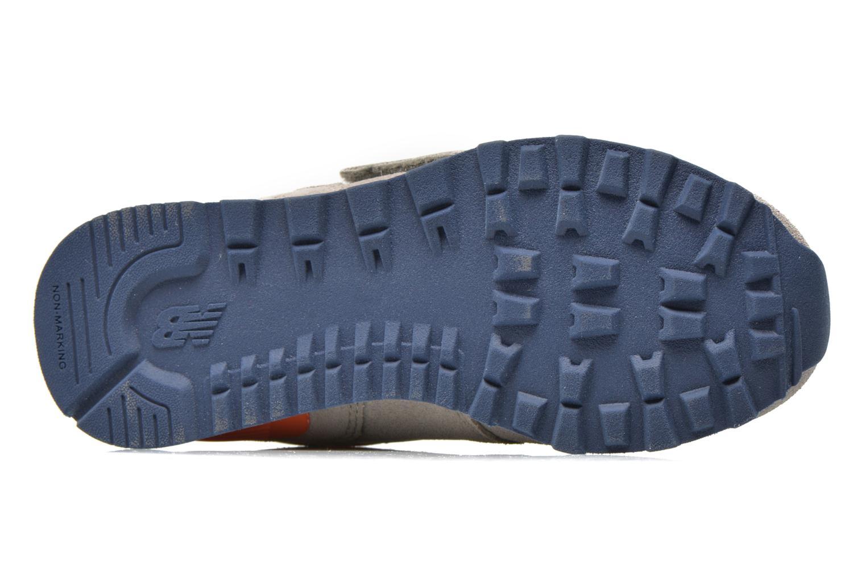 Sneaker New Balance KV574OCY grau ansicht von oben
