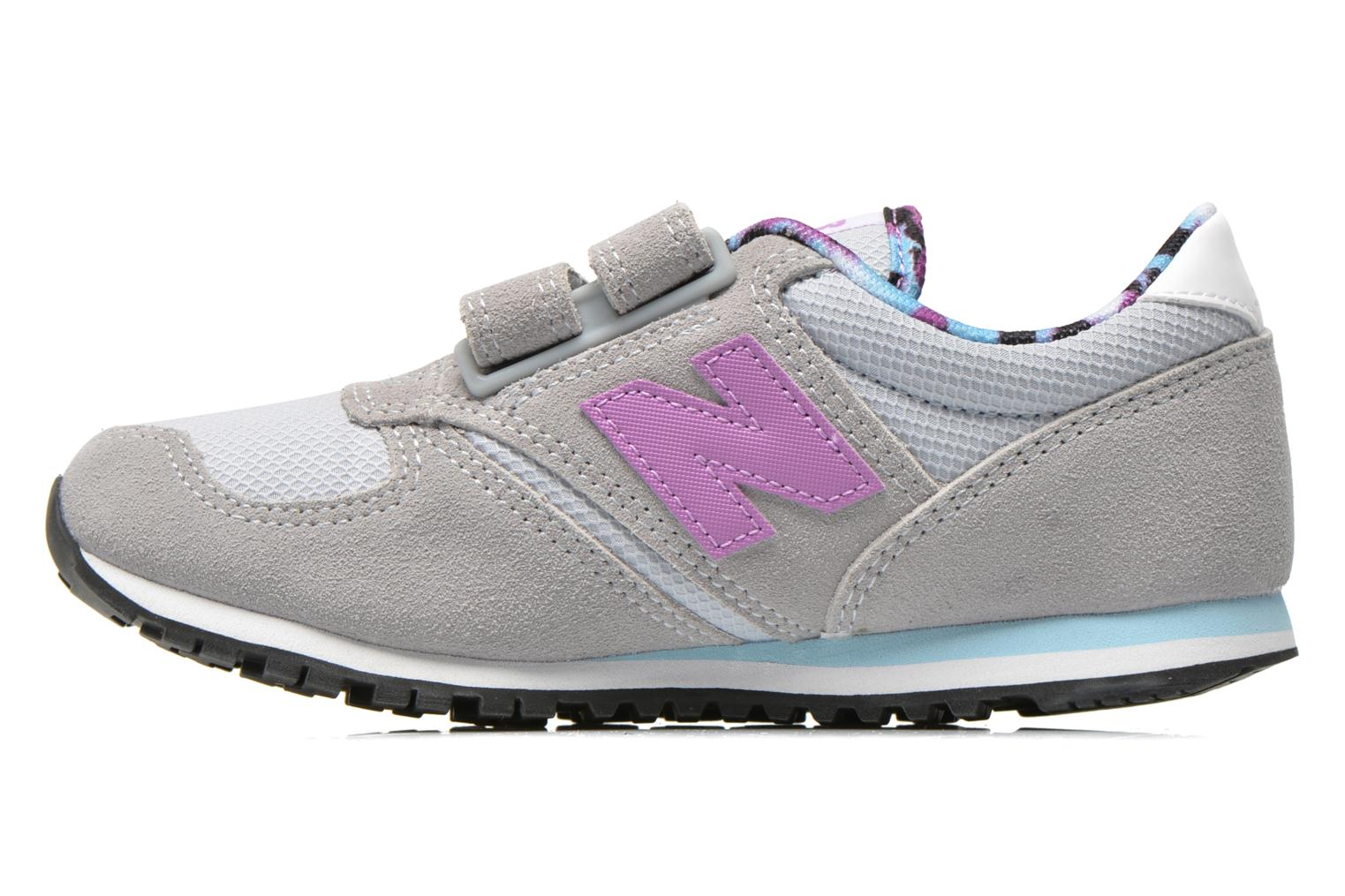 Baskets New Balance KE420 J Gris vue face