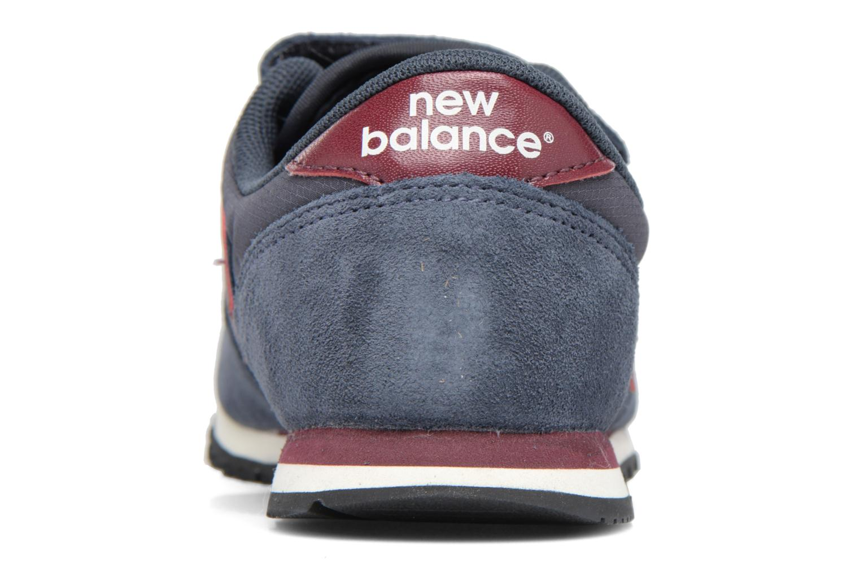 Baskets New Balance KE420 J Bleu vue droite