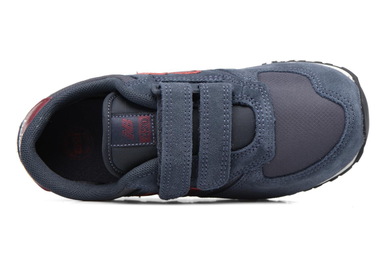 Baskets New Balance KE420 J Bleu vue gauche