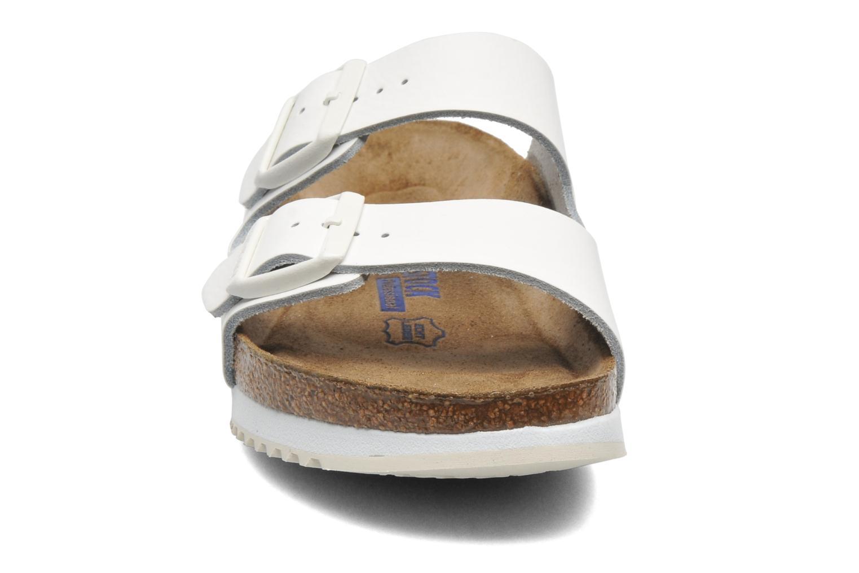 Mules et sabots Birkenstock Arizona Sl W Blanc vue portées chaussures