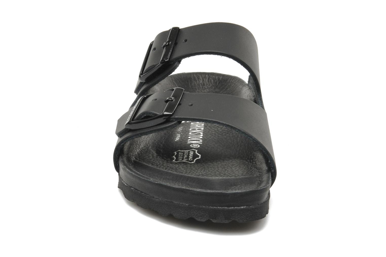 Mules et sabots Birkenstock Monterey W Noir vue portées chaussures