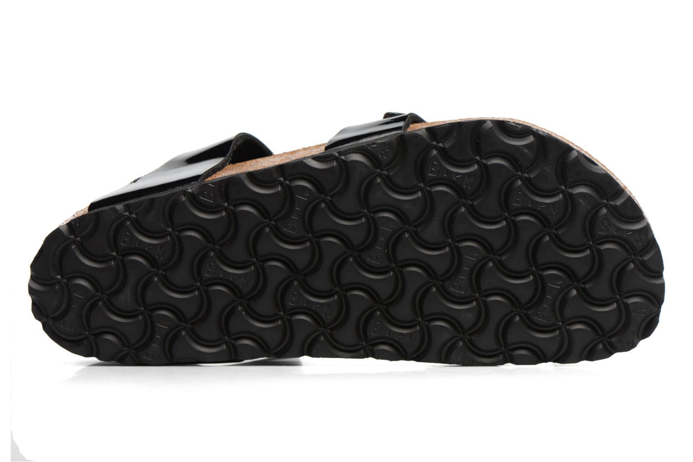 Sandalen Birkenstock Yara Flor W schwarz ansicht von oben