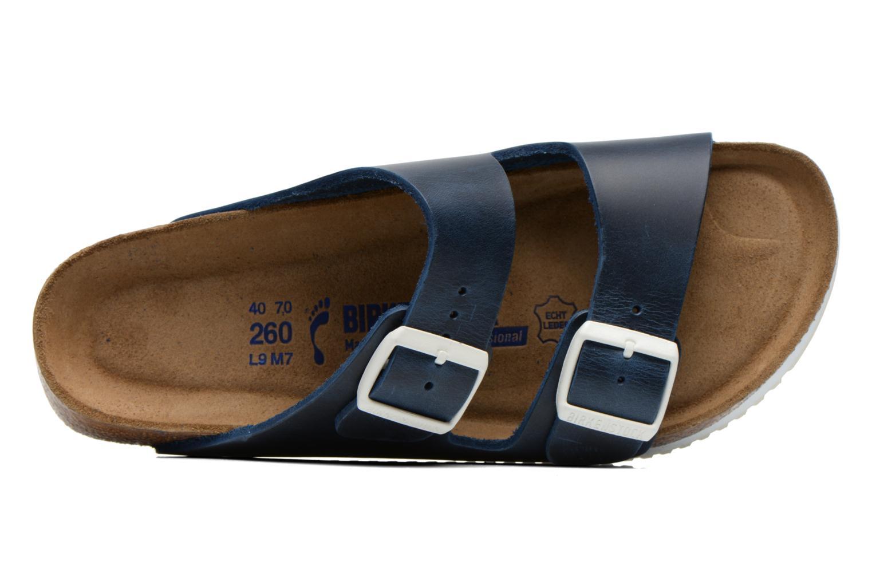 Sandales et nu-pieds Birkenstock Arizona Sl M Bleu vue gauche