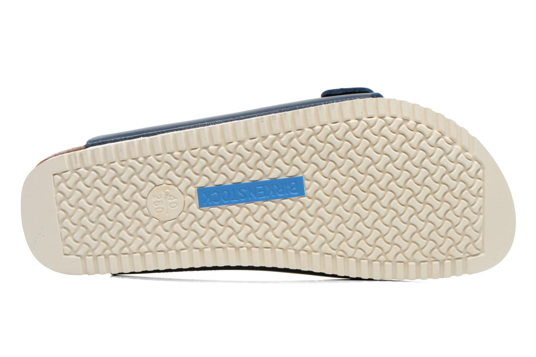 Sandales et nu-pieds Birkenstock Arizona Sl M Bleu vue haut